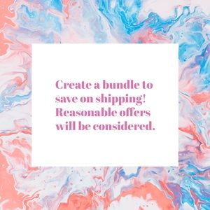 Bundle to save on shipping!